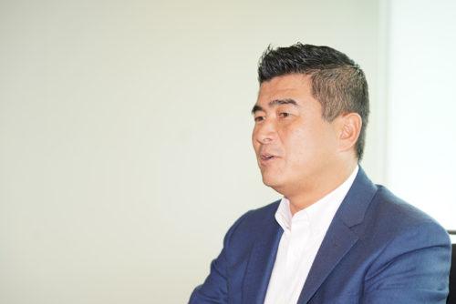GLP事業開発部の松脇隆部長