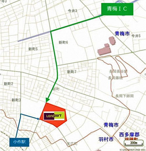 20171024nomura3 500x518 - 野村不動産/東芝青梅工場跡地に大型物流施設3棟を開発
