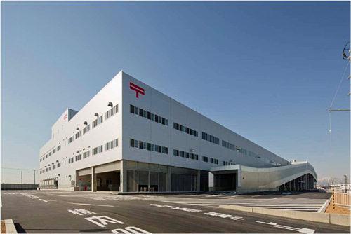 北海道ディストリビューションセンターが入居する道央札幌郵便局