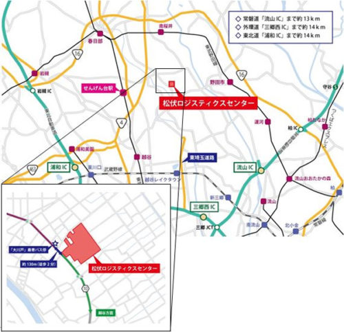 20171026orix3 500x482 - オリックス/埼玉で延床7.7万m2の大規模マルチテナント型物流施設開発