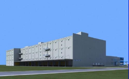 20171124yasuda 500x307 - 安田倉庫/上海の2号倉庫、来年7月竣工