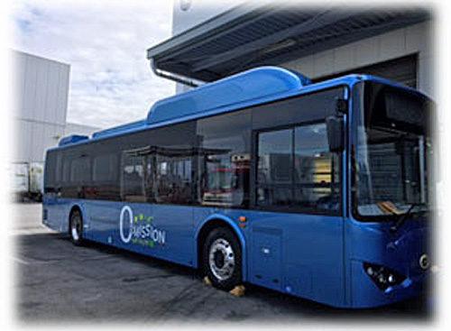 導入する電気バス
