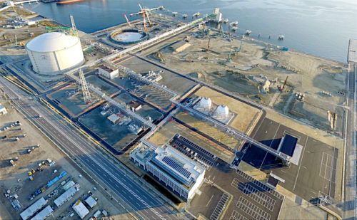 相馬LNG基地の全景
