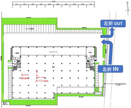 配置図+1階平面図