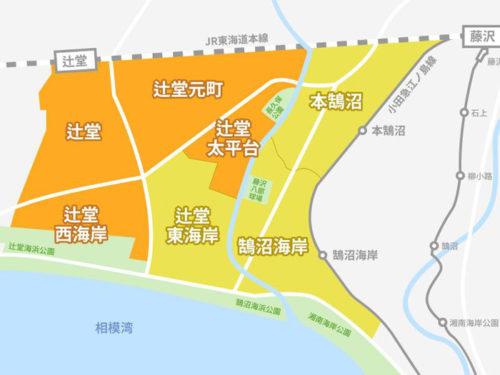 配達可能地域地図