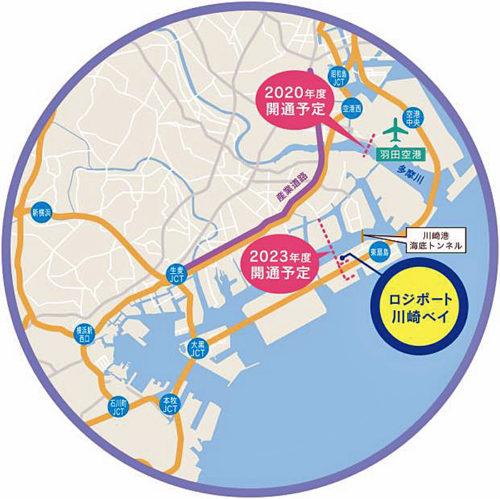 20171215mitsubishirasalle4 500x499 - 三菱地所、ラサール/東扇島に延床29.7万m2の大型物流施設着工