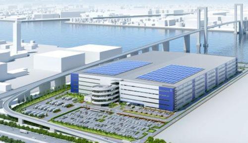 20171225mitsubishirasalle1 500x288 - 三菱地所、ラサール/東扇島に延床29.7万m2の大型物流施設着工