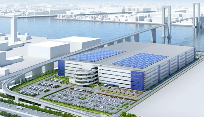 三菱地所、ラサール/東扇島に延床29.7万m2の大型物流施設着工 ...