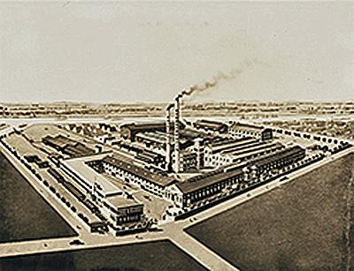 開業当時の淀川工場