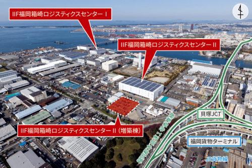 IIF福岡箱崎ロジスティクスセンターⅠ・II