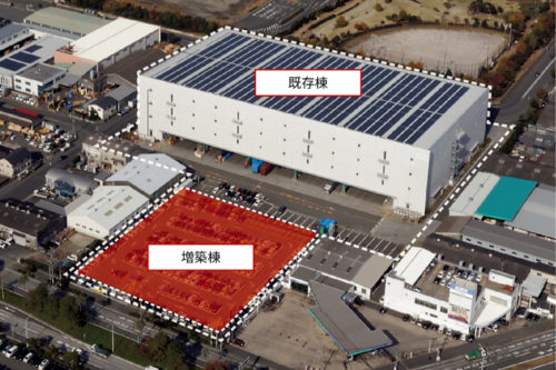 IIF福岡箱崎ロジスティクスセンターII(増築棟)