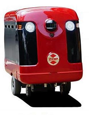 宅配ロボットCarriRo Delivery