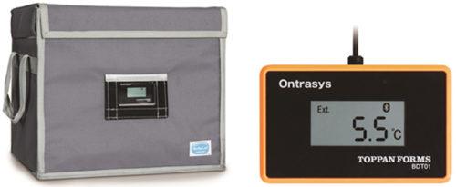 温度トレース機能付き医療用保冷パッケージ