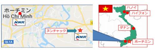 位置図 ●既存事務所 ★ヌンチャック事務所