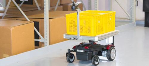 追従運搬ロボット「サウザー(THOUZER)」