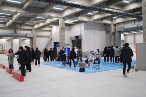 ロボット展示コーナー
