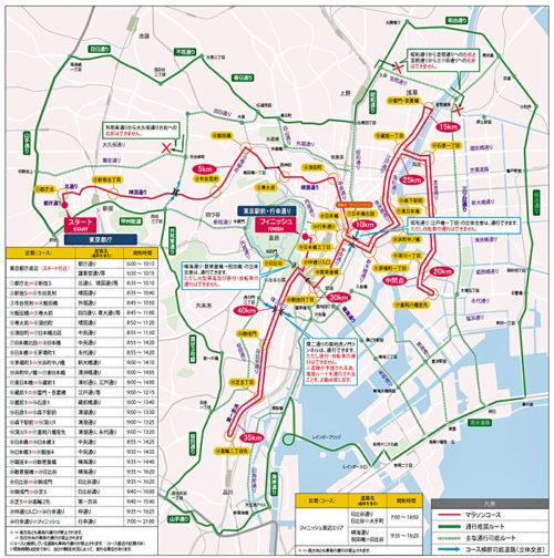 全体の交通規制図