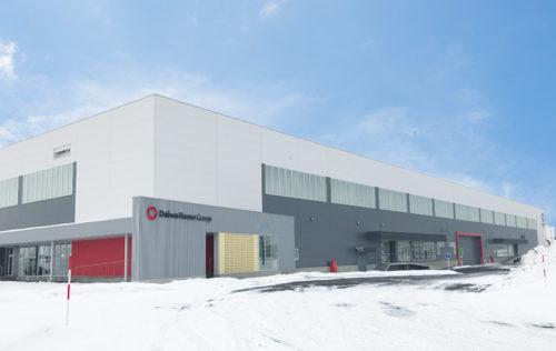 20180202daiwah1 500x316 - 大和ハウス/100億円投じ、札幌に6.5万m2の物流施設竣工