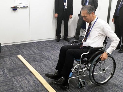 肢体障がい体験