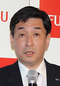 リテール&ロジスティクス事業部の後藤博之事業部長