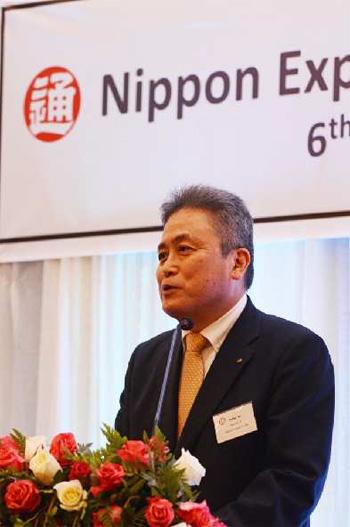伊藤副社長のスピーチ