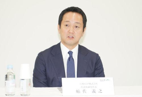 日本GLPの帖佐義之社長
