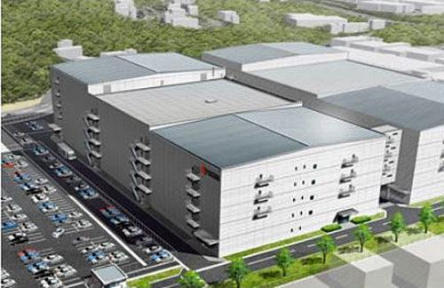 新工場棟(20工場)完成予想図