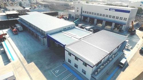 大阪新工場 全体写真