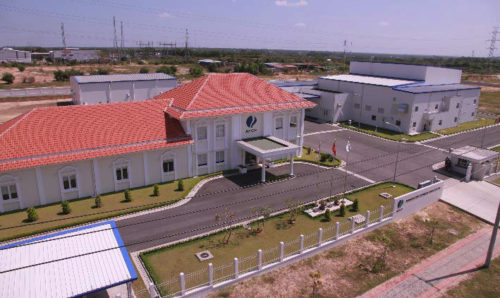 AFCP社ロンタン工場(第二工場)外観