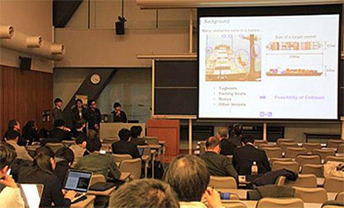 「レーザー及びドローン技術を利用した障害物の可視化」に関するプレゼンテーション