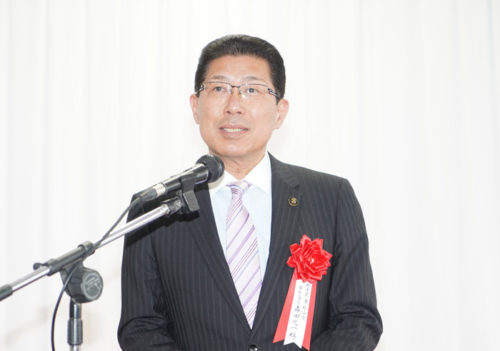 東松山市の森田光一市長