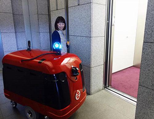 自律走行宅配ロボット(イメージ)