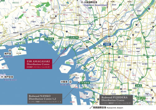20180321esr5 500x354 - ESR/兵庫県尼崎市に国内最大級38.8万m2の物流施設開発