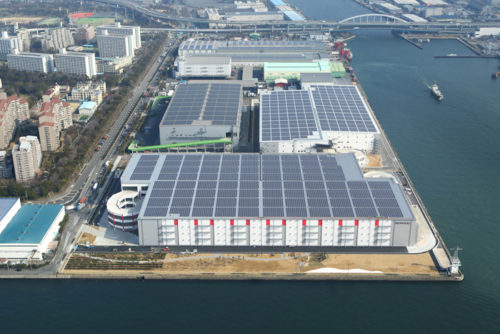 20180322esr1 500x334 - ESR/2月末竣工、15.8万m2の大阪・南港DC2の内部を初公開