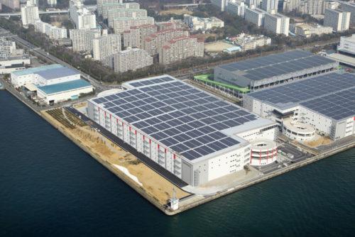 20180322esr2 500x334 - ESR/2月末竣工、15.8万m2の大阪・南港DC2の内部を初公開