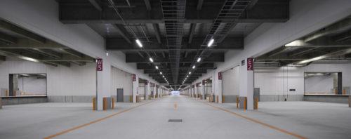 センター部の車路