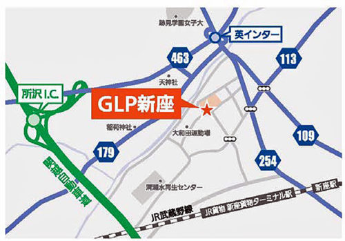 20180326glp3 500x349 - 日本GLP/埼玉県新座市で3.1万m2の物流施設着工、第一倉庫冷蔵が全棟利用