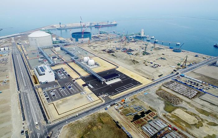 石油資源開発/相馬LNG基地、操...