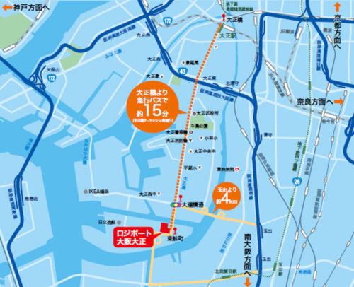 20180328lassale4 500x406 - ラサール、三菱地所/大阪市大正区に12.2万m2の物流施設竣工