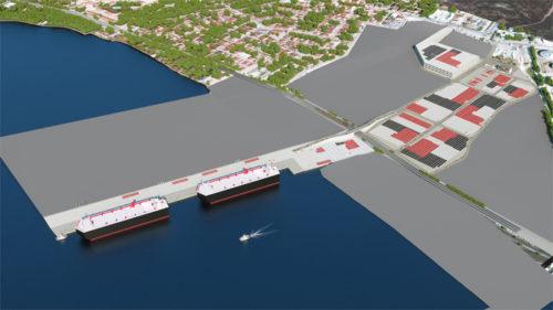 ターミナル完成予想図