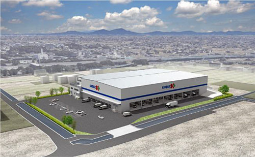 20180411katorec1 500x309 - カトーレック/岡山県早島に4温度帯物流センター建設