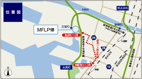 20180412mitsui2 500x278 - 三井不動産/大阪府堺市の物流施設で4月24・25日内覧会、物流ロボットも