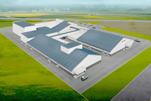 魚沼水の郷工場第二工場、完成予想図