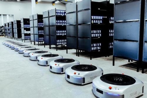 20180416fujitec3 500x334 - フジテックス/AI搭載自動搬送ロボット、導入コストシュミレーション開始