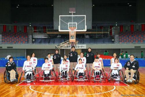 車いすバスケットボールチーム女子