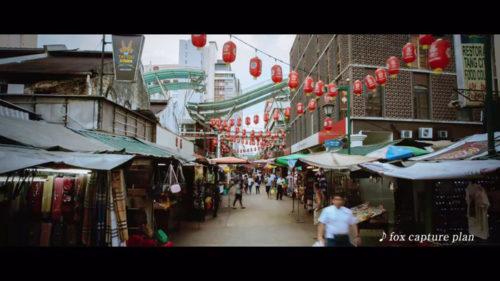 急速に発展するアジアの街並み