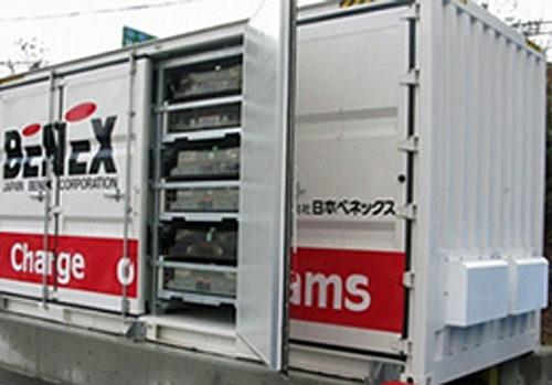 新型リユース蓄電池システム 従来比2倍の搭載効率実現