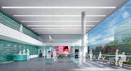 新生産棟の内部の予想図