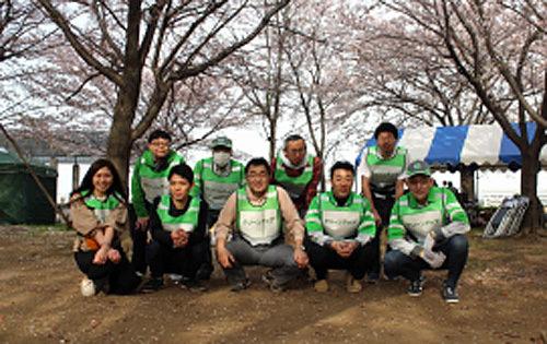 東京のクリーンアップ活動
