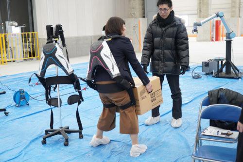蓮田ロジスティクスセンターのロボット体験会